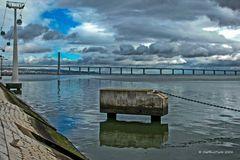 Expogelände und Vasco da Gama Brücke