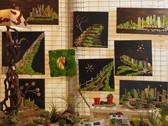Exposition artisanale du marché de Noël d'Agen