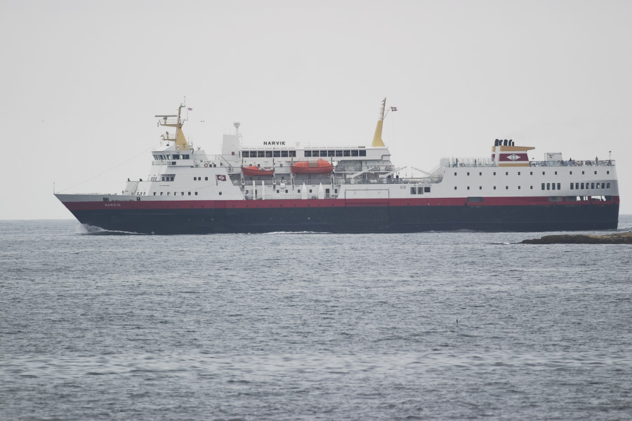Express coastal steamer (M/S Narvik)