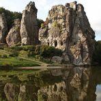 Externsteine, Kulturdenkmal im Teutoburger Wald