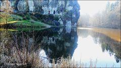 Externsteine - Natur- und Kulturschutzdenkmal - Wiembeckteich
