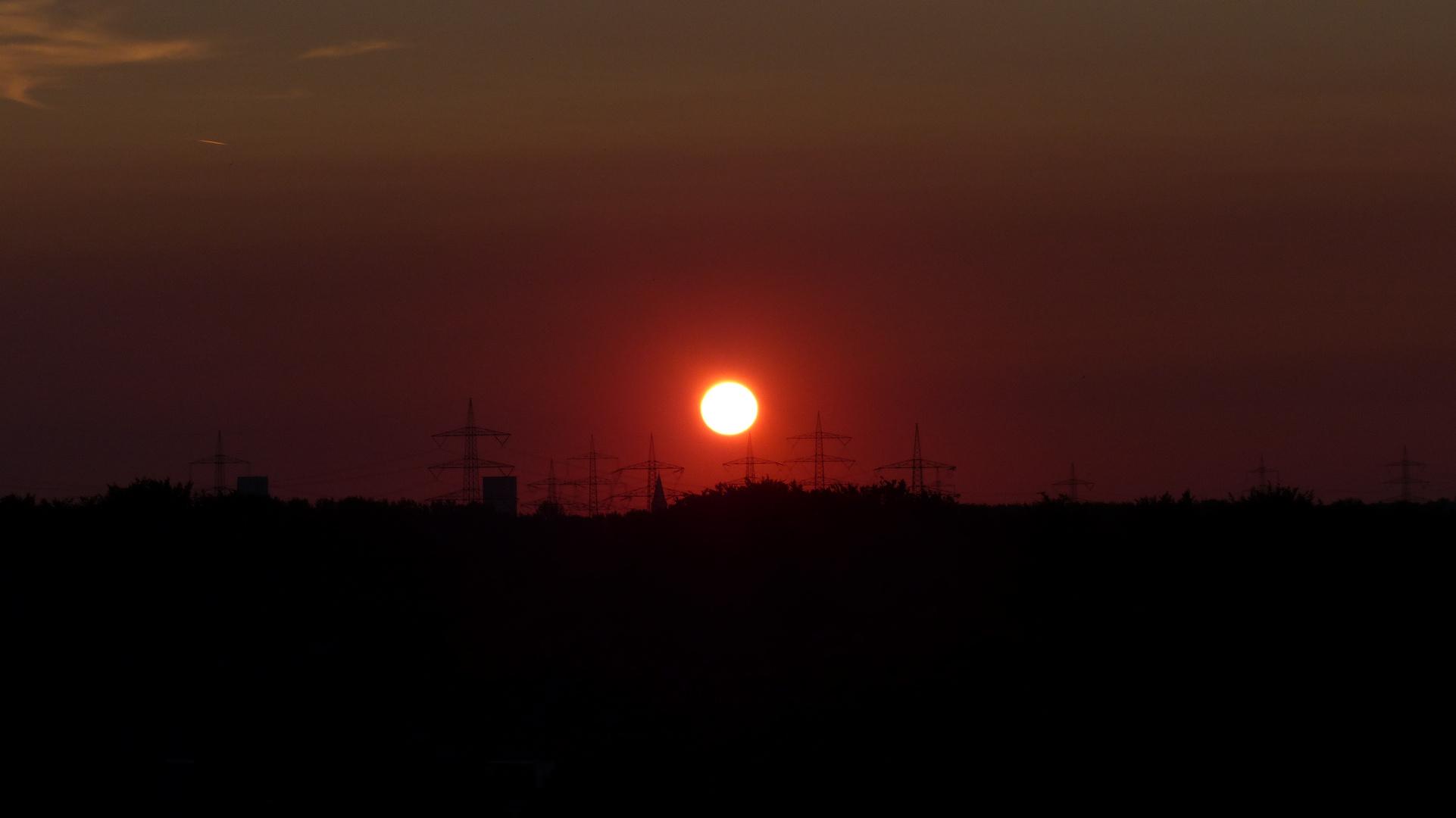 Extraschicht 2013 - Sonnenuntergang