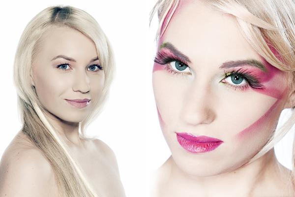 Extrem Make Up Collage