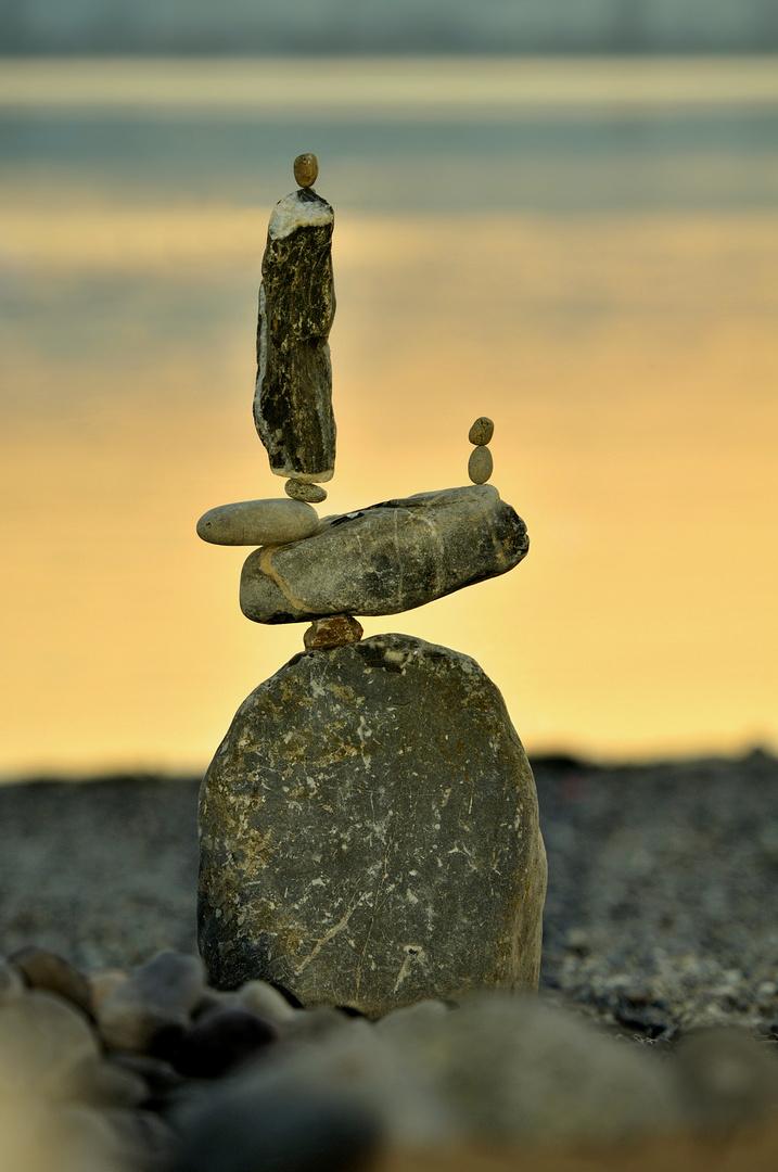 Extrem Zen-Balance