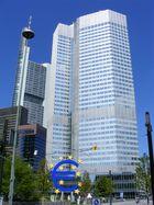 EZB (Europäische Zentralbank) in Frankfurt/M.