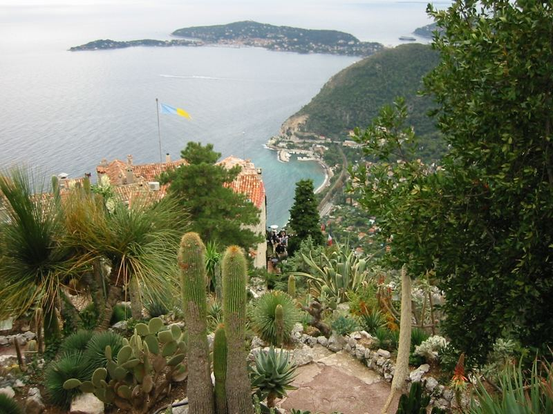 Eze Village - Jardin Exotique Foto & Bild | europe, france ...