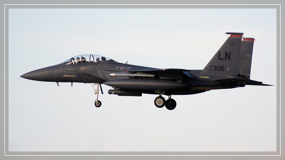 F 15 Strike Eagle...Landing...(2)