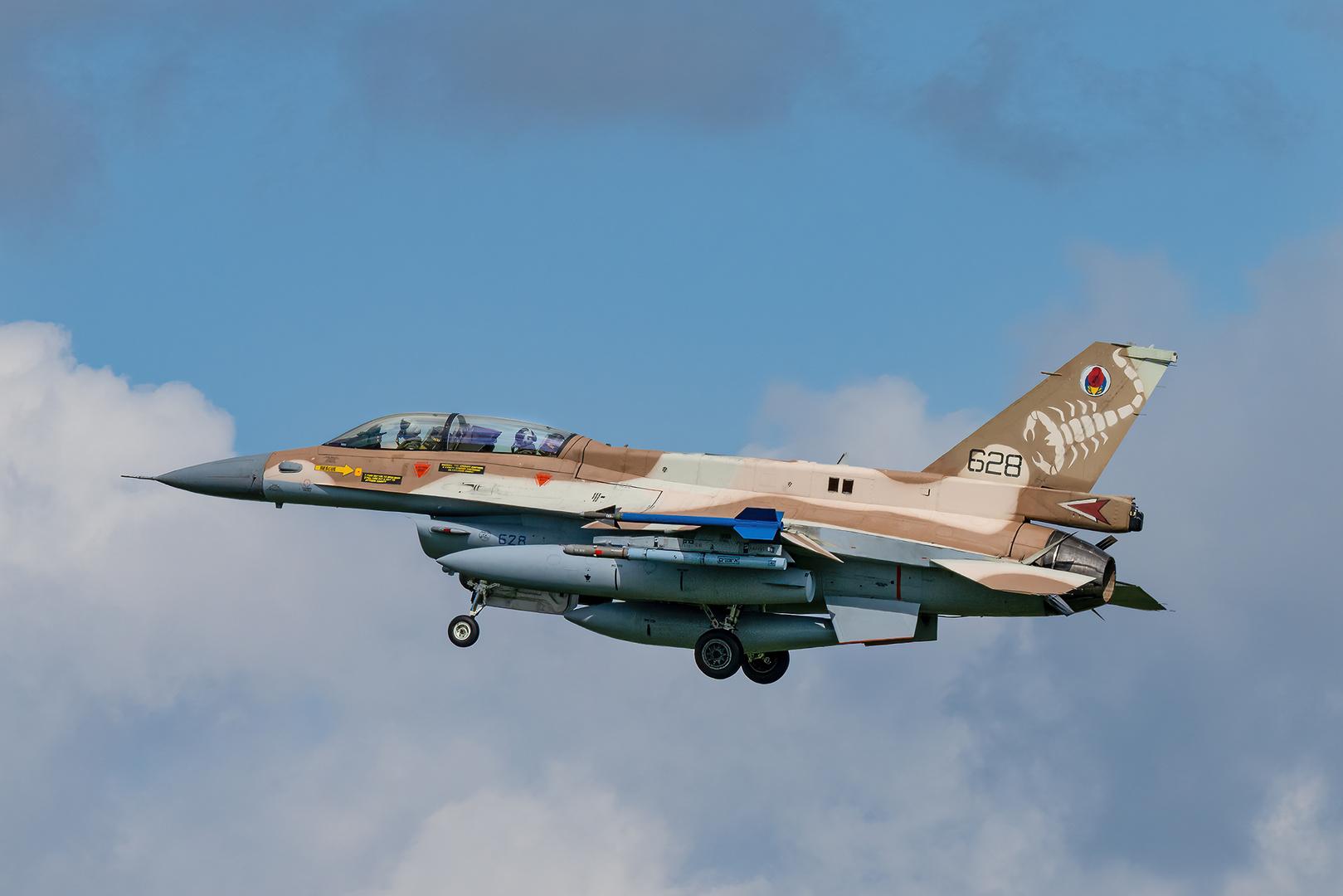 """F-16 C/D """"Barak"""" II"""