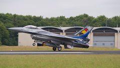 F-16 Demo-Team Belgien Start