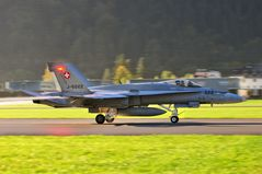 F-18C Hornet J-5022 in Meiringen-Unterbach