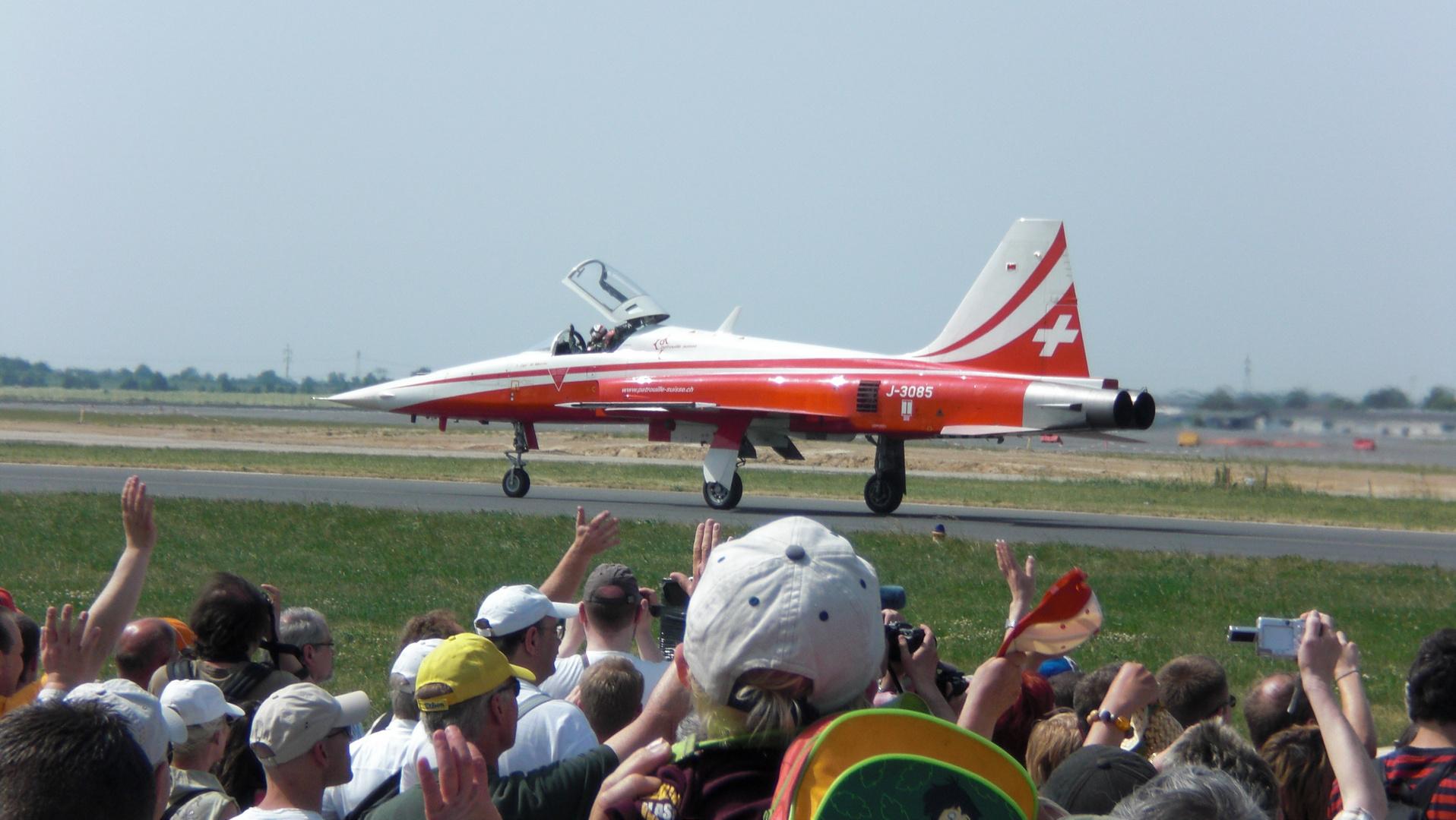 """F-5 """"Patrouille Suisse"""""""