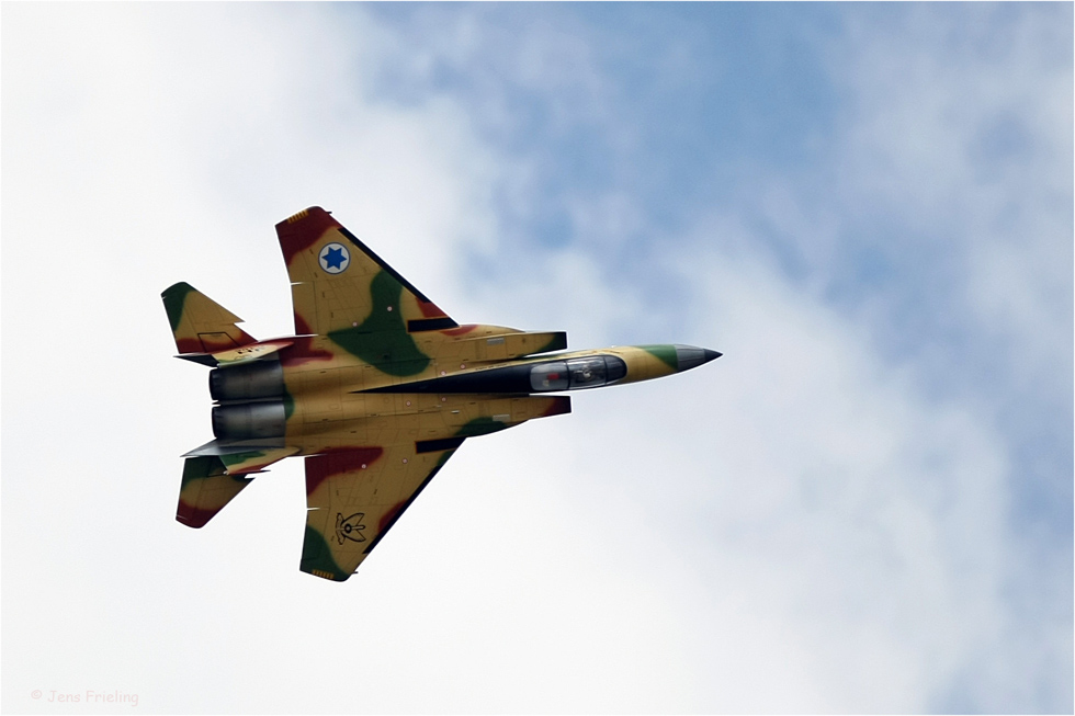 """F15 Israel von Herbert Janning aus Oldenburg """"Düsen-Opa"""""""