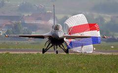 F16 gelandet