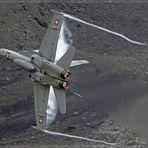 F/A18 Hornet @ Axalp 2009