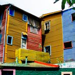 façade de La Boca