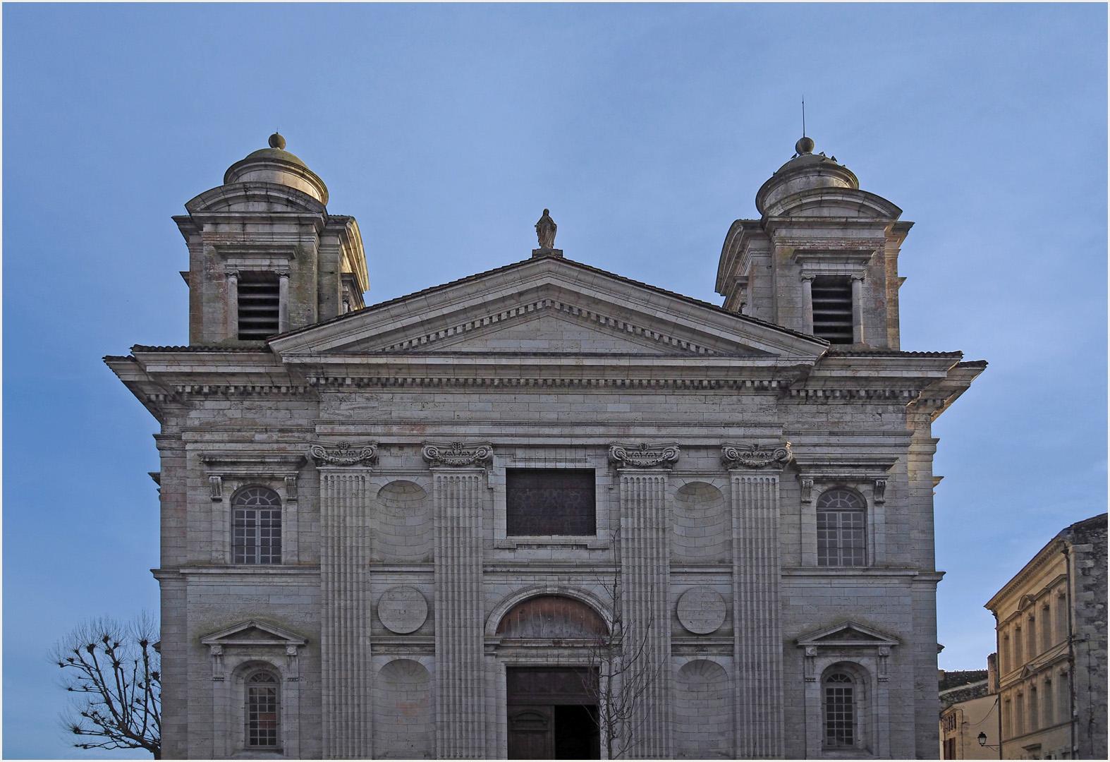 Façade de l'Eglise Saint-Nicolas de Nérac (XVIIIème)
