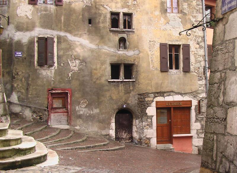 Façades dans Annecy