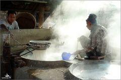 Fabrication de vermicelles