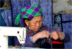 Faces of Vietnam (XXIV): Hanfarbeit