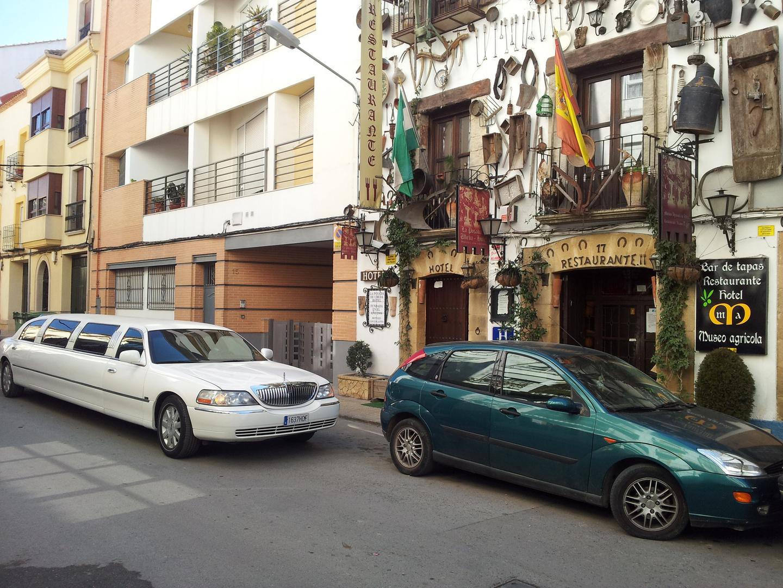 fachada principal hotel museo agricola restaurante asador