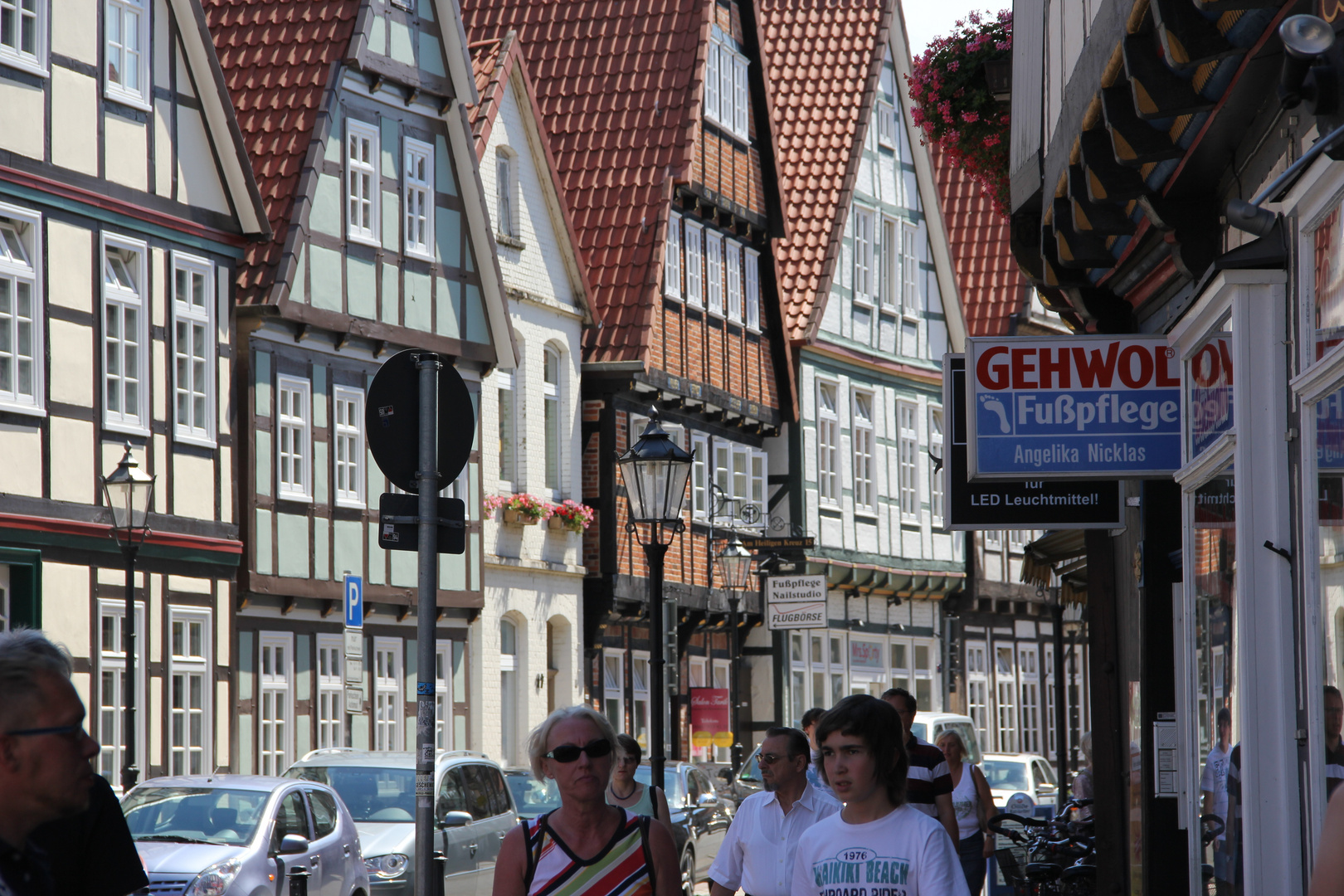 Fachwerk in Celle nur ein anderes Haus