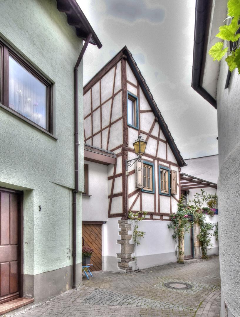 Fachwerk In Deidesheim 3 Foto Bild Historisch Fassaden