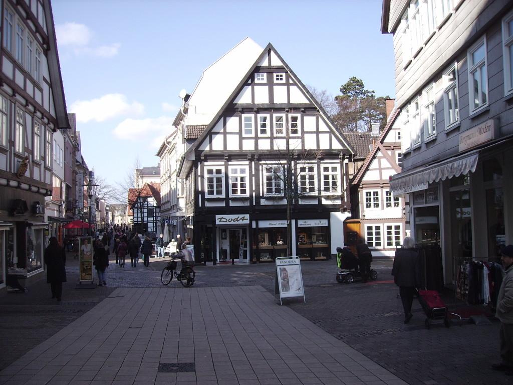 Fachwerk in Detmold/ Altstadt,Innenstadt.