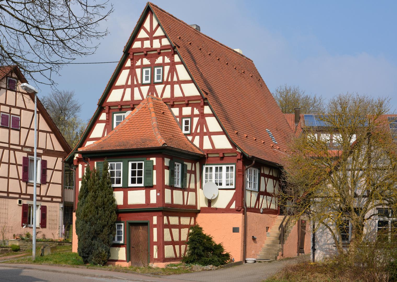 Fachwerk in Hohenhaslach