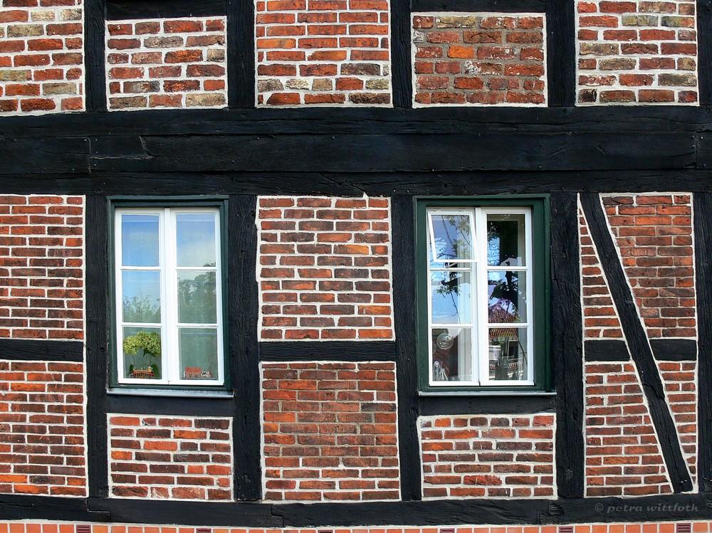 Fachwerk und backstein foto bild deutschland europe for Was ist fachwerk