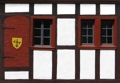 Fachwerkdetail in Bad Münstereifel am Markt