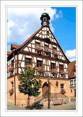 Fachwerkgebäude in Herzogenaurach (wird als Gaststätte genutzt)