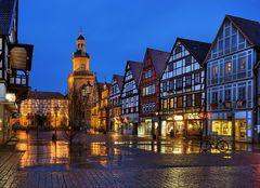Fachwerkhäuser am Marktplatz