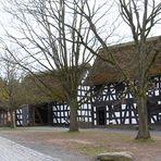 Fachwerkhäuser im Freilichtmuseum Kommern