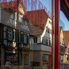 Fachwerkhäuser im Schaufenster