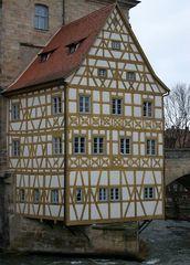 Fachwerkhaus in Bamberg (Bamberger Rathaus)