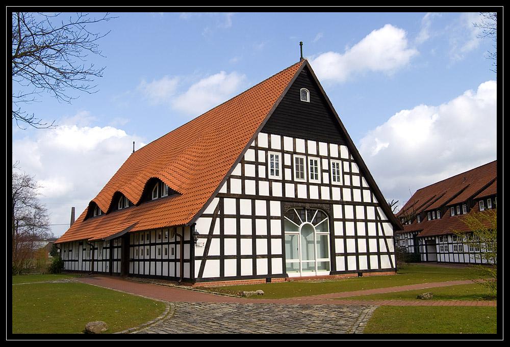 Fachwerkhaus in Melle, Niedersachsen