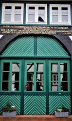Fachwerkinschriften in Blomberg - Lippische Tradition