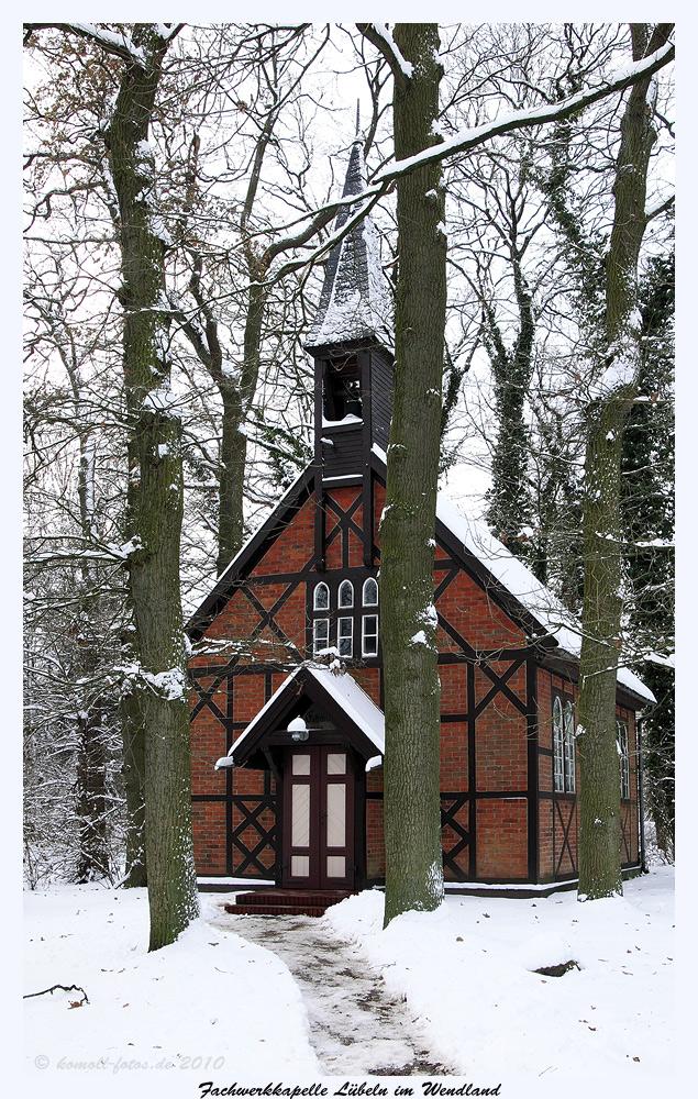 Fachwerkkapelle in Lübeln