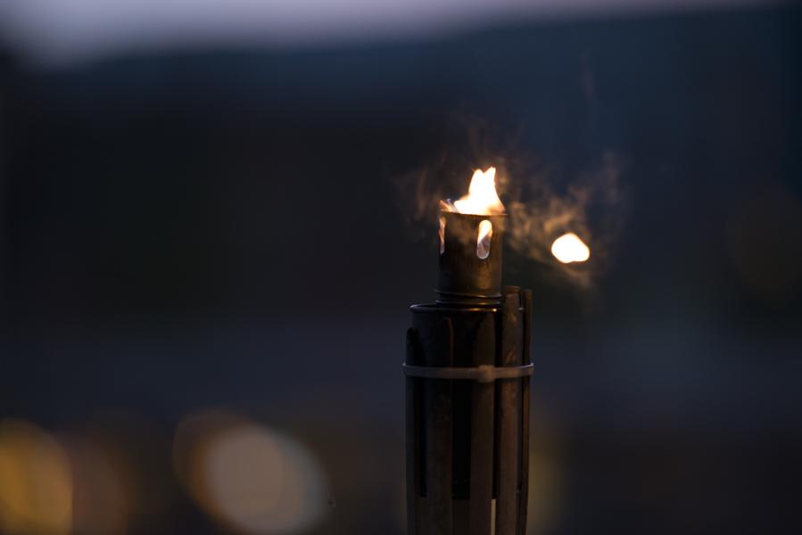 Fackel im Sturm Foto & Bild | lampen und leuchten