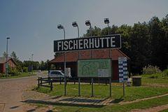 Fähranleger Fischerhütte.