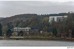 Fähranleger, Künstlerbahnhof Rolandseck und Arp Museum...