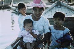 Fährboot in Birma