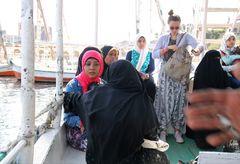 Fährboot Nil Egypt Ca-21-89-col +6Fotos