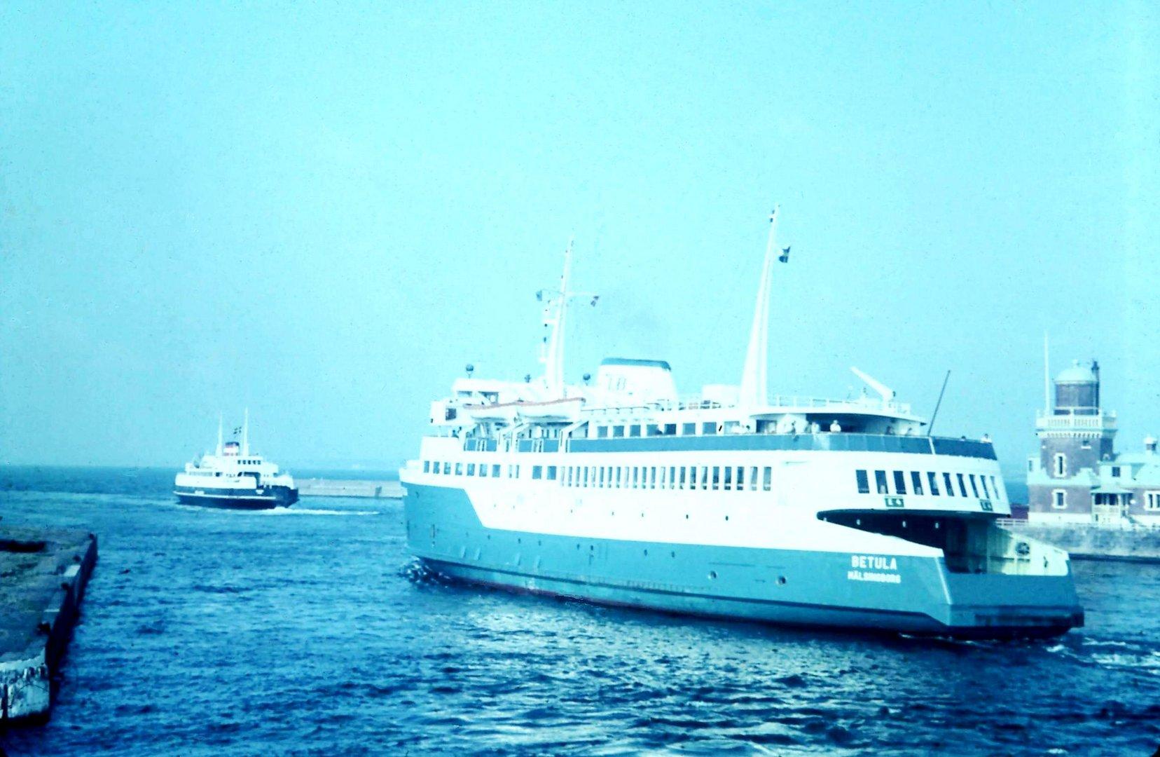 Fähren in Helsingborg