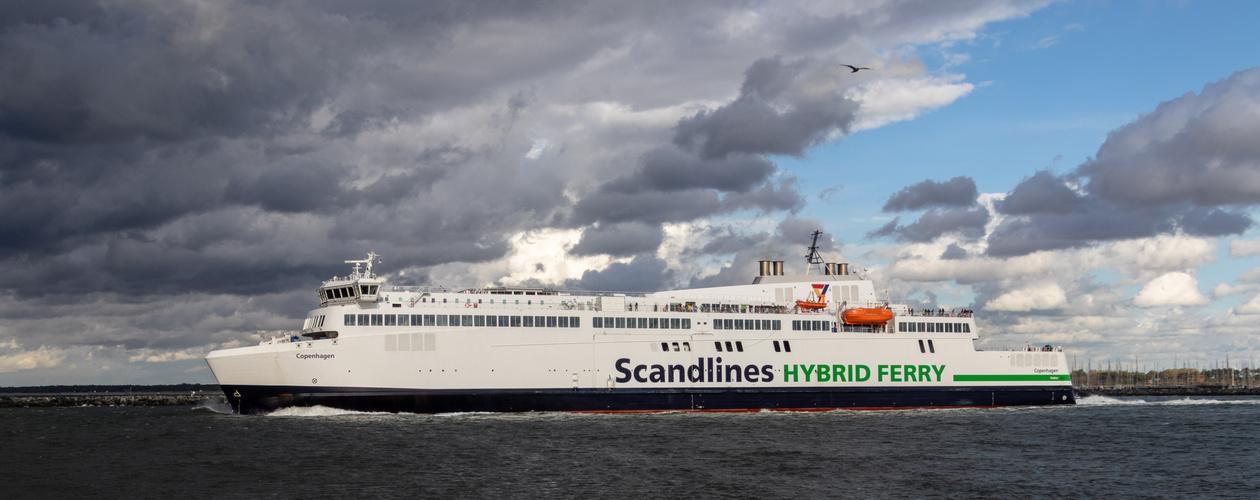 Fährschiff Copenhagen