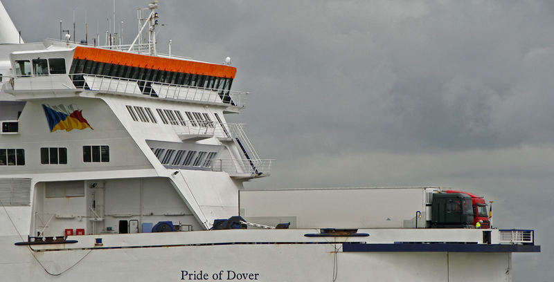 Fährschiff in Calais