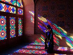 Färbiges Licht