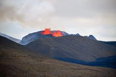 FAGRADALSFJALL - der Vulkan spuckt