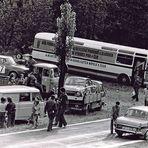 Fahrerlager nach dem Bergrennen - Semily 1975 # 1 ...