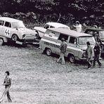Fahrerlager nach dem Bergrennen - Semily 1975 # 2 ...